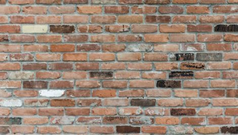 multi brick wall